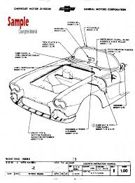 1961 corvette c1 factory assembly instruction manual