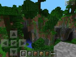 Minecraft Map Seeds Porsche Forest On Cliff With Caves Minecraft Pe Seeds