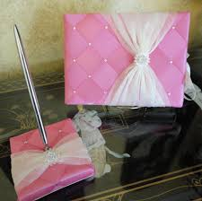 sweet 16 guest book quince sweet 16 guest book and pen set holder by sisicreations