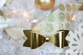 mini bow ornaments