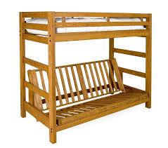 futon bunk bed wood bonners furniture