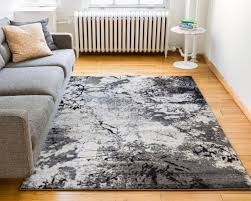 Grey And Beige Area Rugs Splash Grey Beige Modern Abstract Geometric Paint Brush Stroke