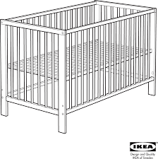 Ikea Convertible Crib Ikea Crib Aa 240443 2 User Guide Manualsonline