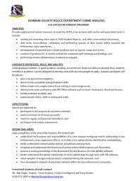 Sample Law Enforcement Resume by Resume Objective Examples Law Enforcement