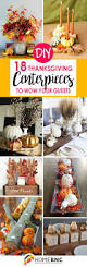 thanksgiving sensory table ideas 18 easy diy thanksgiving centerpieces to wow your guests