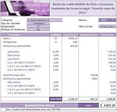 media jornada empledo de comercio 2016 empleados de comercio liquidación sueldo marzo 2013