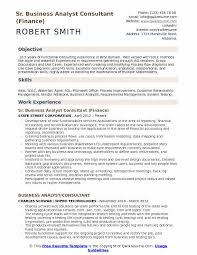 Business Analyst Finance Domain Resume Business Analyst Consultant Resume Samples Qwikresume
