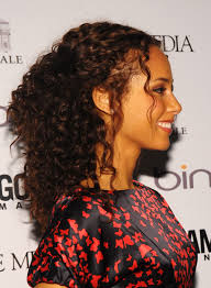 haircuts for curly hair 13 half up half down hairstyles u2014 half up bun hairstyle trend