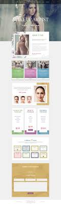 professional makeup artists websites makeup artist premium psd template psd templates template and