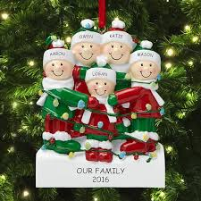 personalized tree ornaments decor