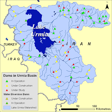 Iran On World Map The Drying Of Iran U0027s Lake Urmia And Its Environmental Consequences