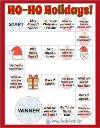 happy holidays from noodlenook free printables