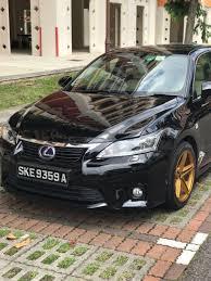 lexus ct200h used car for sale buy used toyota lexus ct200h auto premium car in singapore 71 800