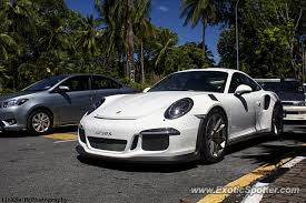 porsche gt3 malaysia porsche 911 gt3 spotted in langkawi malaysia on 01 17 2016