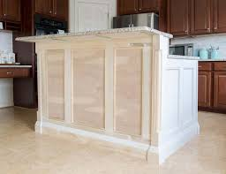 corner kitchen cabinet island adding trim to a kitchen island craving some creativity
