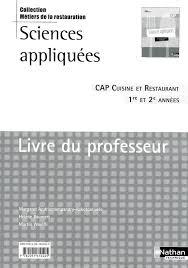 livre technique cuisine fiche technique cuisine cap top pdagogique jusqu au vendredi mai