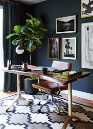 Home Office Interior Design by Arabelle Hanging Shade By Aerin In Gild Home Office Interior
