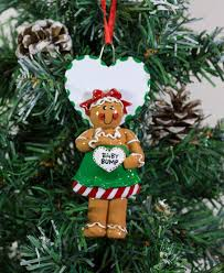personalized christmas tree decoration ornament pregnant