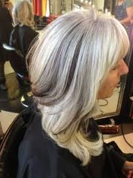 lowlights on white hair pictures adding lowlights to gray hair black hairstle picture