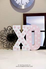 valentines home decor xo u0027 valentine home decor tutorial make it and love it