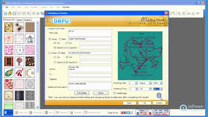 working with drpu wedding cards designer software youtube