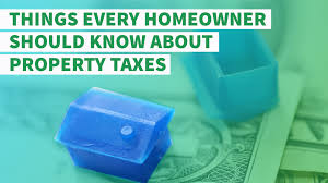 Things New Homeowners Need To Buy 6 Things Every Homeowner Should Know About Property Taxes