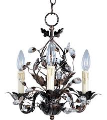 Maxim Chandeliers Maxim 2855oi Elegante 3 Light 14 Inch Oil Rubbed Bronze Mini