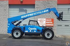 rental fleet genie 8k telehandler sale or rent crane for sale