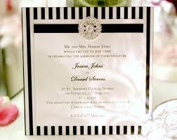 black and white striped wedding invitations prints wedding theme black and white striped wedding