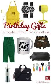 12 best birthday gift ideas for boyfriend who has everything