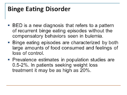 Bed Eating Disorder Eating Disorders Tiffany L Bell D O Department Of Psychiatry