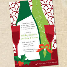 Cocktail Party Invite - sweet wishes holiday wine tasting cocktail party invitations