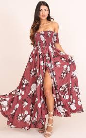 maxi dress sassy maxi dress in floral showpo