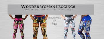 Wonder Woman Workout Clothes Fetre Designs Workout Yoga Leggings Capris Wonder Woman Legging