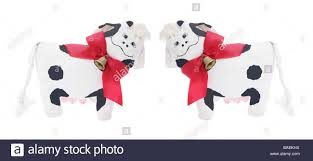 cow ornaments stock photo royalty free image 23679654 alamy
