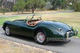 sold jaguar xk120 roadster auctions lot 46 shannons
