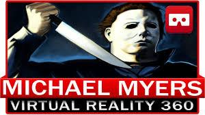 halloween horror nights virtual reality 360 vr 4k michael myers halloween horror kill you fpv