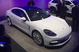 porsche panamera 4 2017 porsche panamera 4 e hybrid makes debut autocar