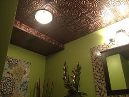 Used Tin Ceiling Tiles For Sale by Design With Faux Tin Pvc Ceiling Tile 205 Antique Copper Size