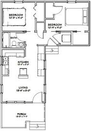 Small House Plans 700 Sq Ft 36x36 Two Bedroom House Plan 962 Sq Ft Mostly Small Houses