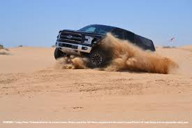 2017 ford f 150 raptor attacks the dunes