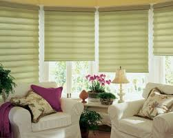 Folding Blind Roman Shade Instead Of Curtains And Blinds For Beautiful Window