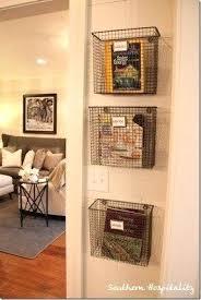 wall fruit basket wall magazine storage wall magazine storage wall mount storage
