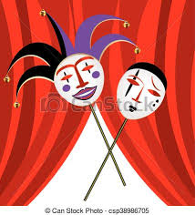 clown graphics 89 clown graphics backgrounds abstract background and velum with two masks clown vector