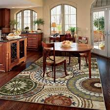 mohawk home suzani blue printed area rug multicolor walmart com