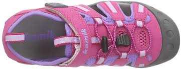 kamik rain boots olivia kamik kids u0027 crab open toe sandals pink