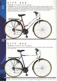 city peugeot peugeot 1996 france full line brochure