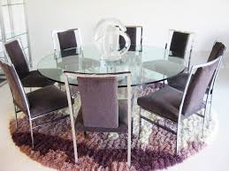 Glass Circular Dining Table Glass Dining Table For 6 Clever Design Dining Table Ideas