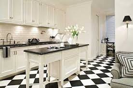 black and white tiles kitchen capitangeneral