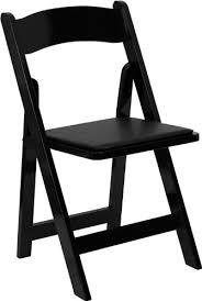 Dining Folding Chairs Hercules Series Black Wood Folding Chair Padded